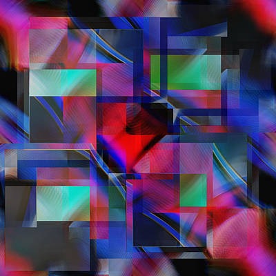Digital Art - Daringly Bold - Digital Abstract by rd Erickson