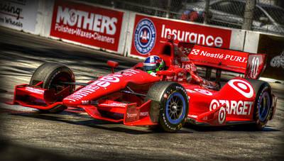 Indy Car Photograph - Dario 1 by Craig Incardone