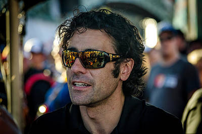 Photograph - Dario Franchitti by David Morefield