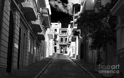 Photograph - Dark Alley In San Juan by John Rizzuto
