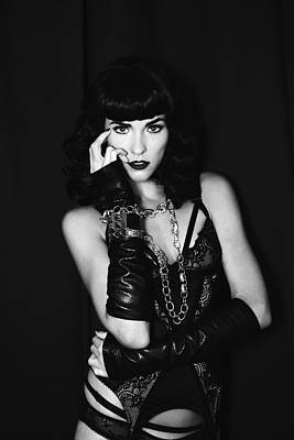 Cuff Bracelet Photograph - Dark Angel Bettie by William Dey