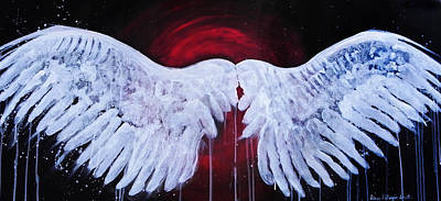 Painting - Dark Angel by Stacey Pilkington-Smith