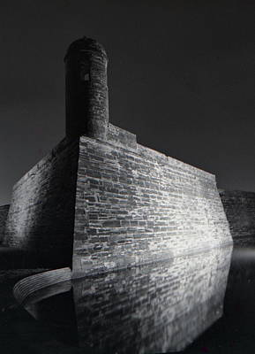 Exposed Mixed Media - The Castillo De San Marcos by Gustave Kurz
