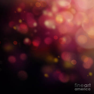 Mythja Digital Art - Dark Bokeh by Mythja  Photography