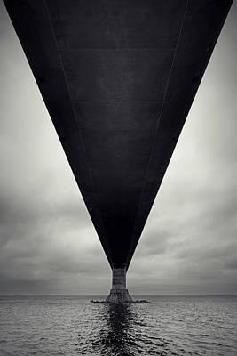 Photograph - Dark Bridge by Shaunl