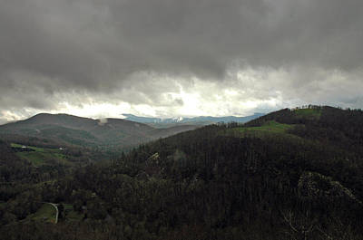 Dark Clouds Over Cashiers Art Print