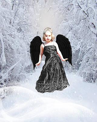 Dark Fairy Art Print by ChelsyLotze International Studio