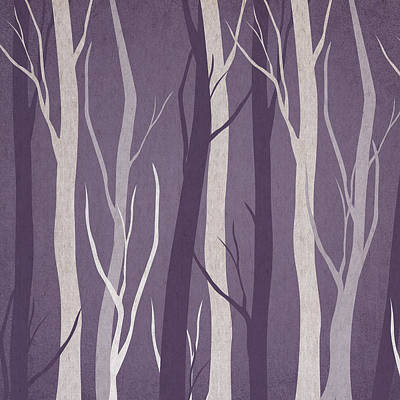 Dark Forest Art Print by Aged Pixel