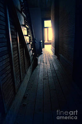 Photograph - Dark Hallway by Jill Battaglia
