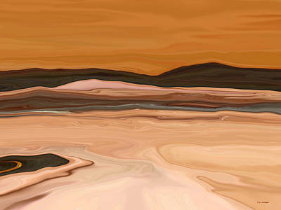 Dark Hills Art Print by Tim Stringer