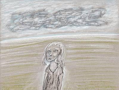 Drawing - Dark Horizon by Jim Taylor