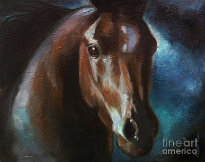 Painting - Dark Horse by Charice Cooper