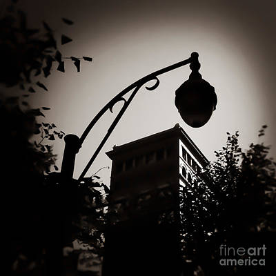 Photograph - Dark In The Light Memphis Tennessee by T Lowry Wilson