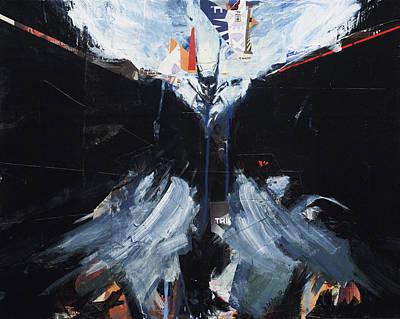 Painting - Dark Knight #2 by David Leblanc