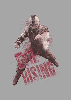 Dark Knight Rises Digital Art - Dark Knight Rises - Bane Rising by Brand A