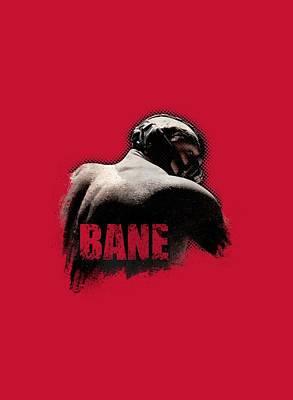 Dark Knight Rises Digital Art - Dark Knight Rises - Bane Wash by Brand A