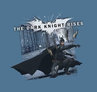 Dark Knight Rises Digital Art - Dark Knight Rises - Batarang Throw by Brand A