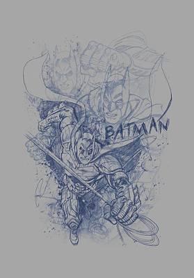 Dark Knight Rises Digital Art - Dark Knight Rises - Batman Character Study by Brand A