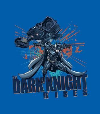Dark Knight Rises Digital Art - Dark Knight Rises - Batwing by Brand A