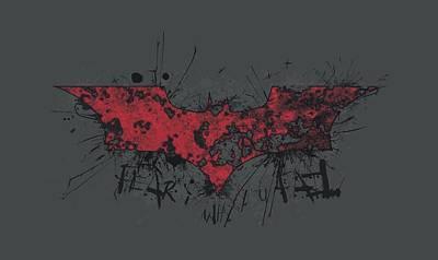 Dark Knight Rises Digital Art - Dark Knight Rises - Fear Logo by Brand A