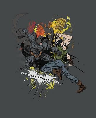 Dark Knight Rises Digital Art - Dark Knight Rises - Fight For Gotham by Brand A