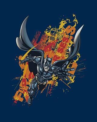 Dark Knight Rises Digital Art - Dark Knight Rises - Fire Rises by Brand A