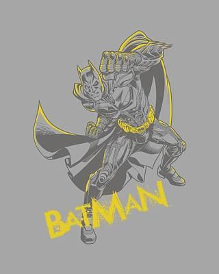 Dark Knight Rises Digital Art - Dark Knight Rises - Left Hook by Brand A