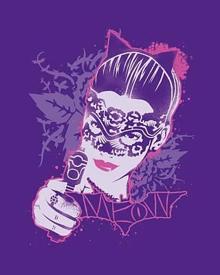 Dark Knight Rises Digital Art - Dark Knight Rises - Masked Kitty by Brand A