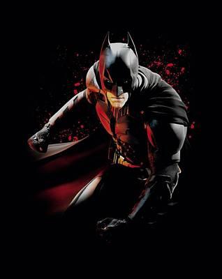 Dark Knight Rises Digital Art - Dark Knight Rises - Ready To Punch by Brand A