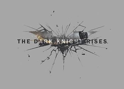 Dark Knight Rises Digital Art - Dark Knight Rises - Rise Logo by Brand A