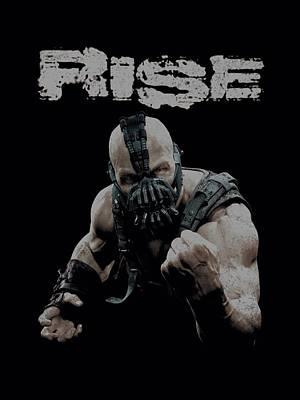 Dark Knight Rises Digital Art - Dark Knight Rises - Rise by Brand A