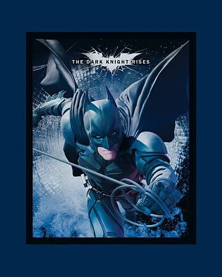 Dark Knight Rises Digital Art - Dark Knight Rises - Swing Into Action by Brand A