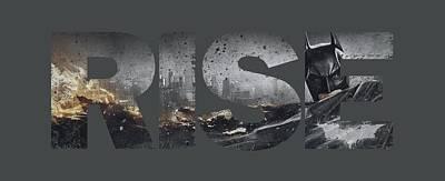 Dark Knight Rises Digital Art - Dark Knight Rises - Title by Brand A