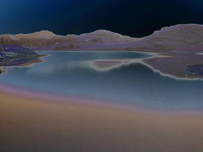 Photograph - Dark Lake by Aurora Levins Morales