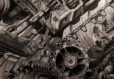 Dark Machine Original by Slavisa Krunic