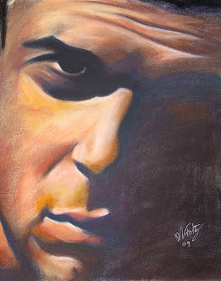 Painting - Dark Man by Michael Foltz