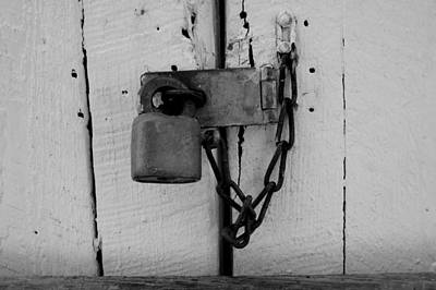 Photograph - Dark Padlocked by Laurie Perry