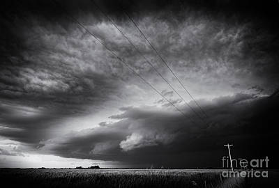 Dark Prairie Art Print by Dan Jurak