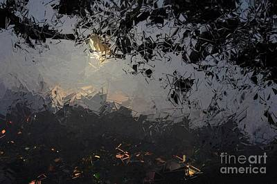Dark Rain Art Print by The Art of Alice Terrill