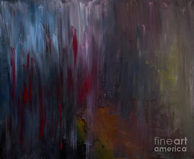 Dark Rain Art Print