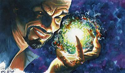 Fantasy Painting - Dark Ritual by Ken Meyer jr
