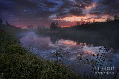 Alberta Landscape Photograph - Dark River by Dan Jurak