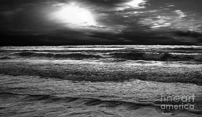 Photograph - Dark Sea by Jerry Hart
