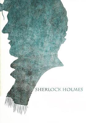 Dark Sherlock Holmes Art Print by Georgia Fowler