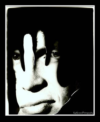Billy Idol Photograph - Dark Side  by Kip Krause