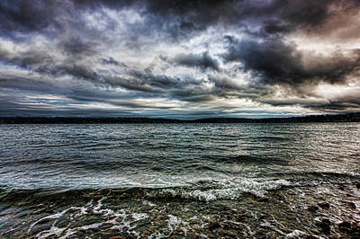 Photograph - Dark Skies by Bob Park