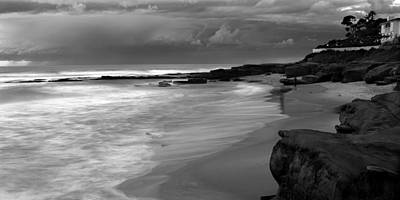 Widescreen Photograph - Dark Skies - Bright Seas by Peter Tellone