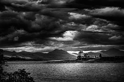 Photograph - Dark Skies Over Mull by Ian Good