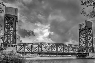 Photograph - Dark Skies Over Ohio Street by Guy Whiteley