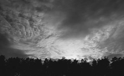 Dark Sky  Art Print by Ben Foster